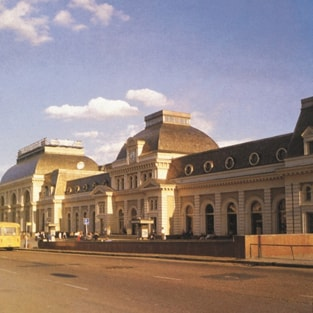 Paveletsky Railway Station in Moscow. Project of reconstruction.