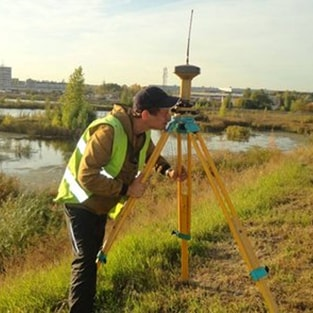 HSR. The work of land-surveyors. Moscow Region (September 2015).